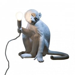 Monkey lamp sitting seletti
