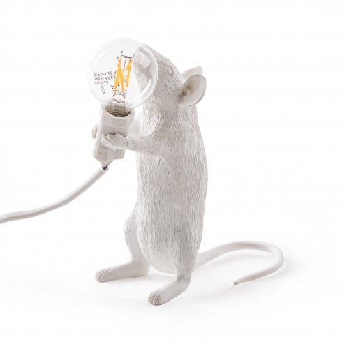 Mouse lamp standing #1 seletti