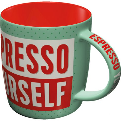 Retromugg espresso yourself