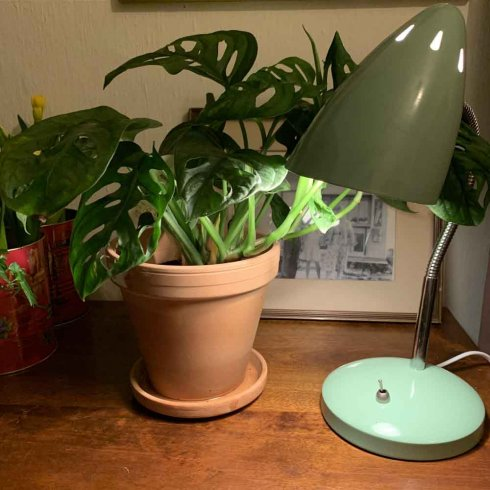 Bordslampa retro mint