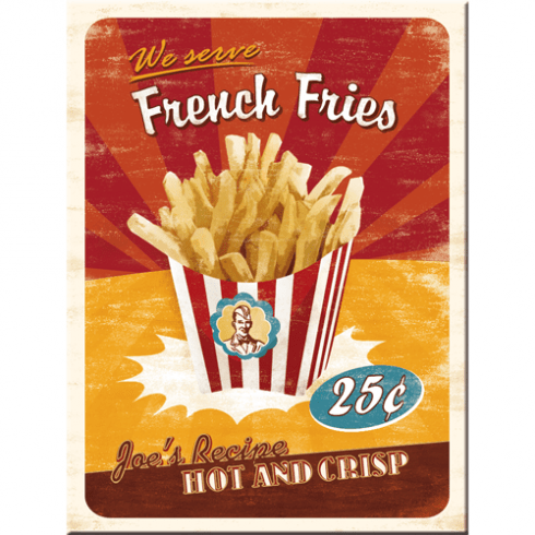 Magnet french fries 6x8cm