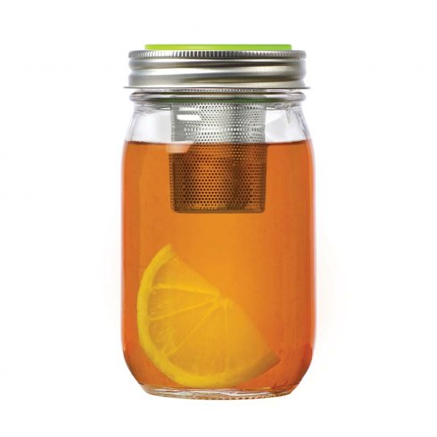 Mason jar Tea Infuser lid regular mouth
