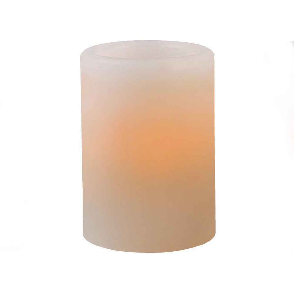 Vaxljus LED Benvit